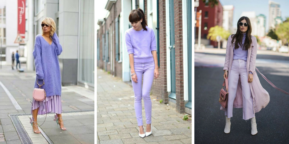 total lilac look