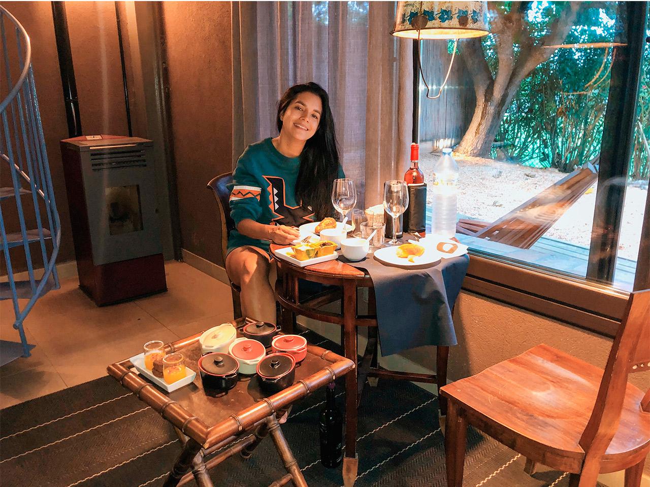 Hotel-Mill-Estrelles-cerca-de-Barcelonam-hotel-burbuja,-dormir-en-una-burbja-viendo-las-estrellas