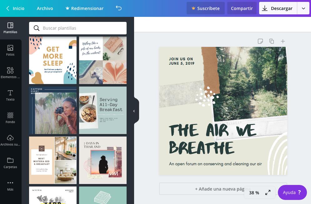 herramientas de diseño para no diseñadores, como hacer publicaciones de redes sociales increibles, apps para instagram