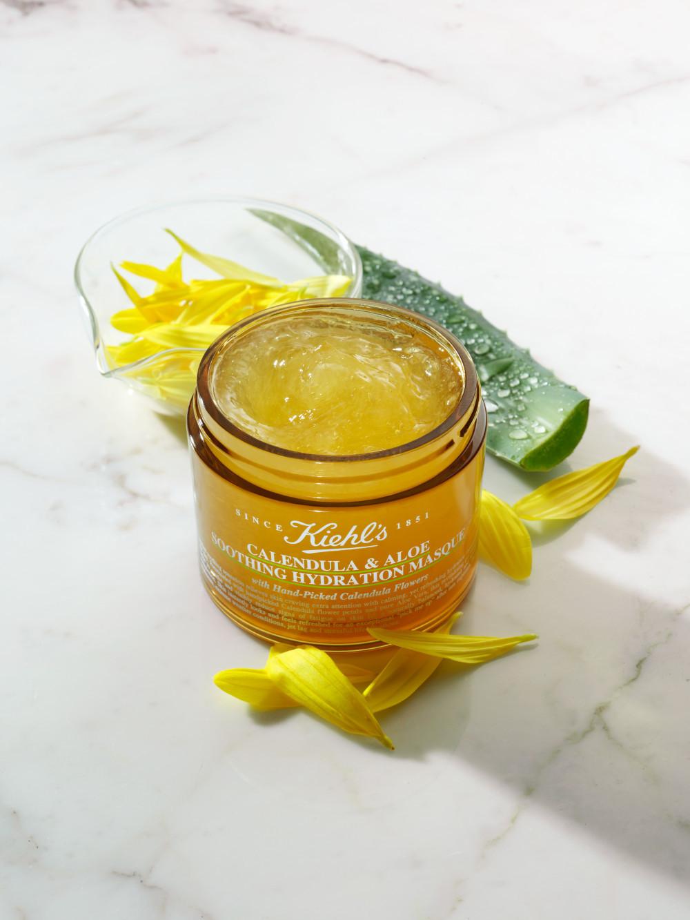 productos de belleza de verano, mascarilla_calendula_y_aloe_vera_de_kiehls
